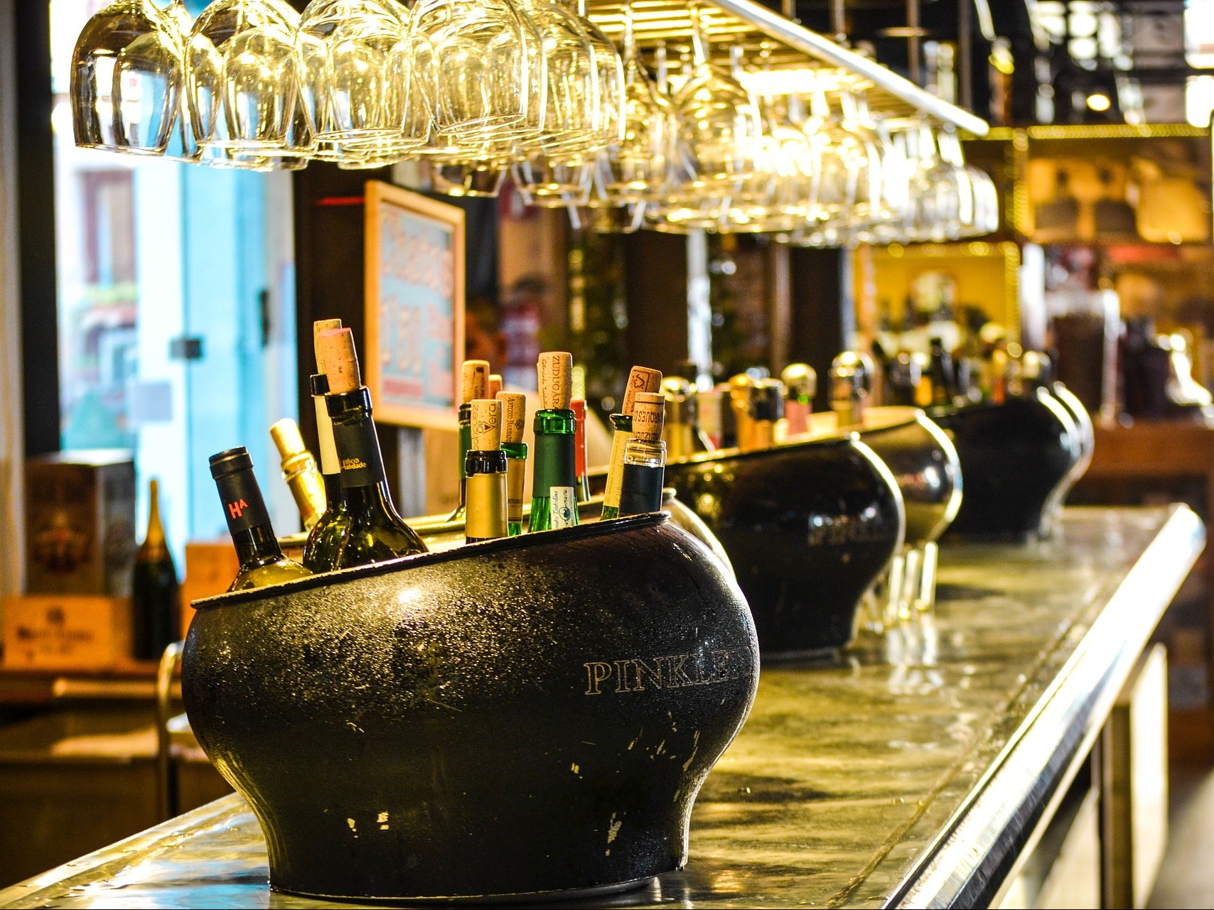 Bar Drank Alcohol