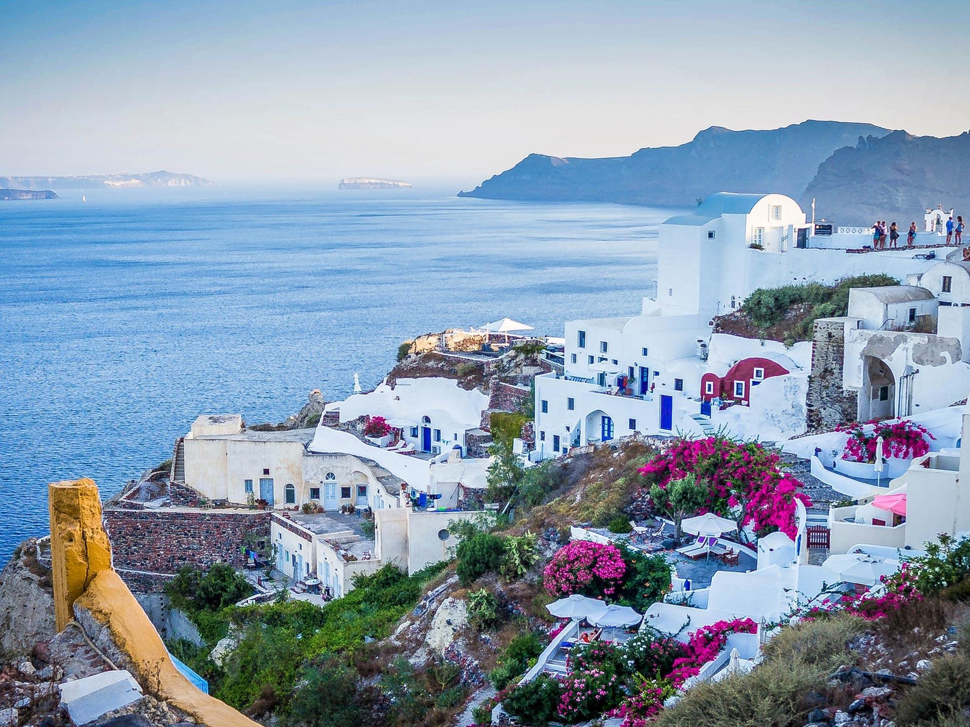 Griekenland Zee bloemen