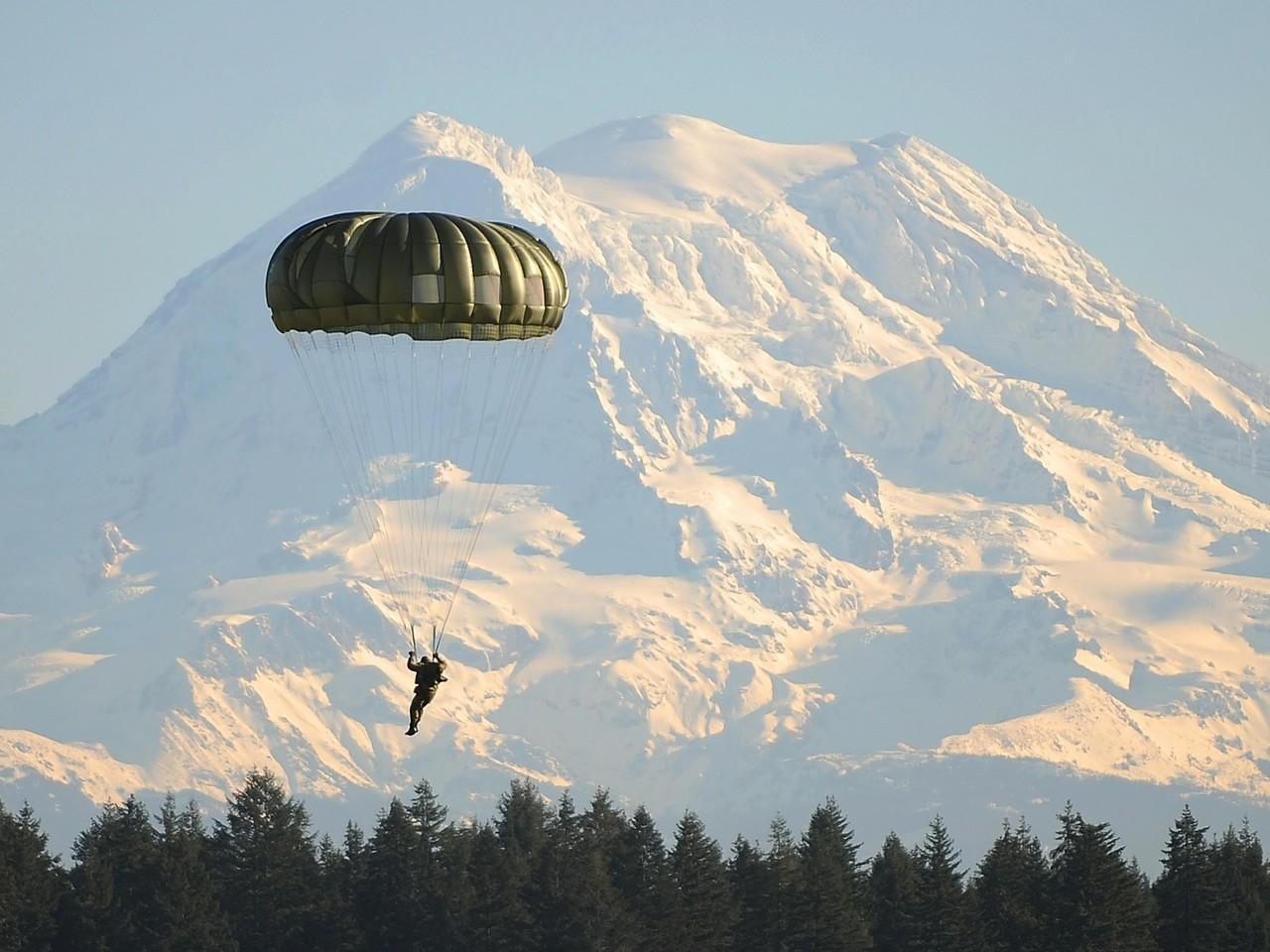 Parachute springen Adrenaline