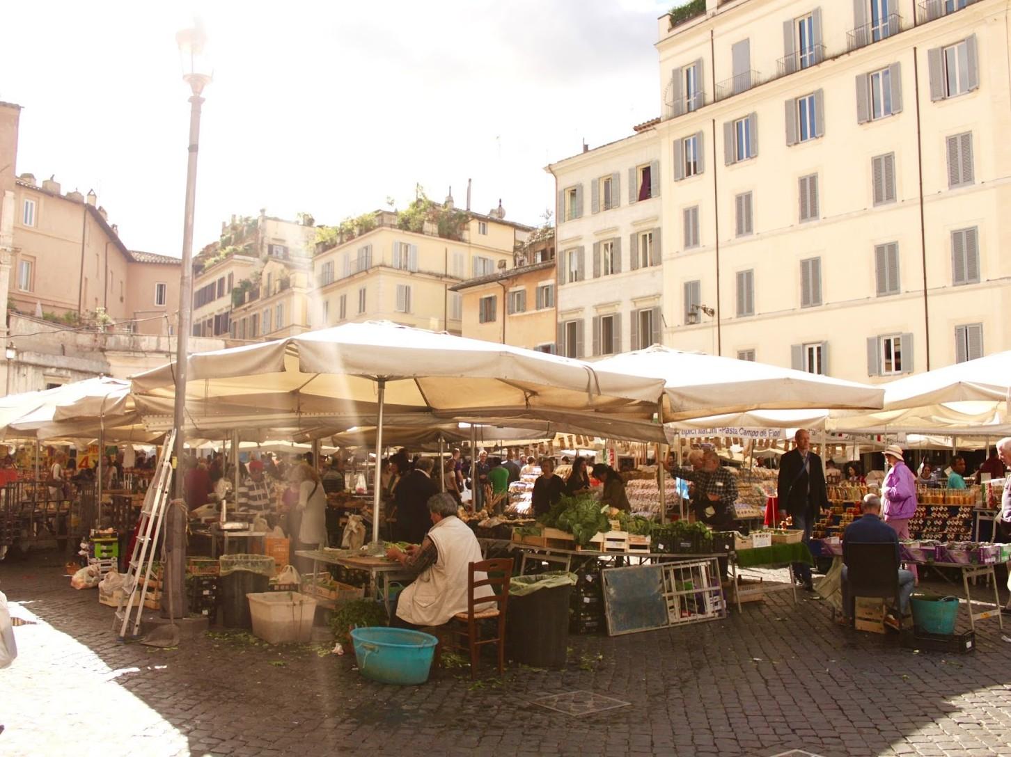 Plein-Rome-Markt