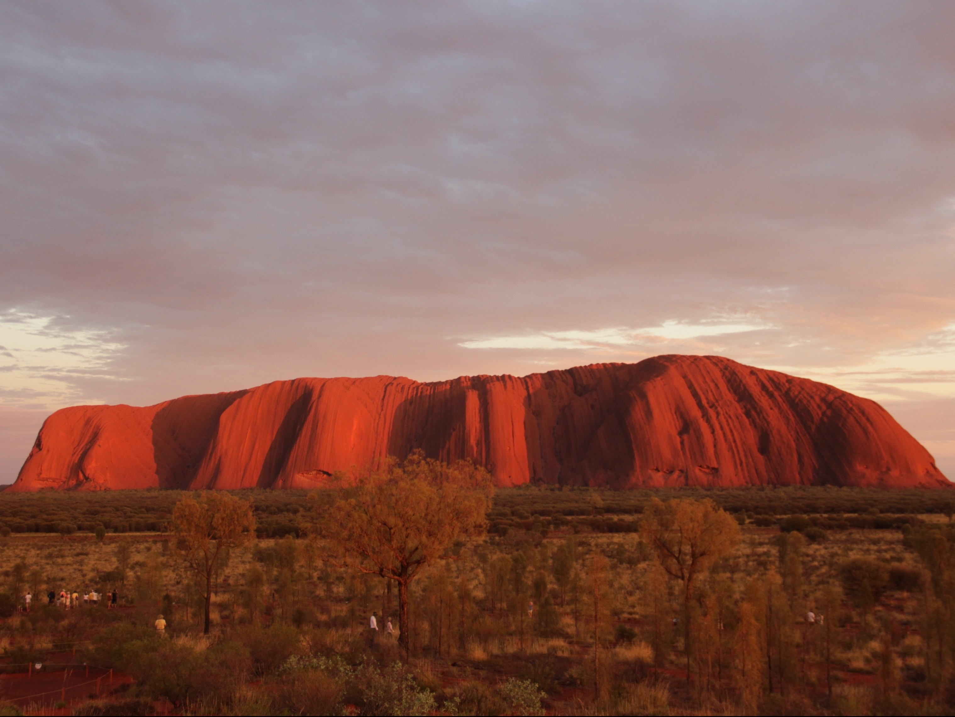 Uluru by sunrise