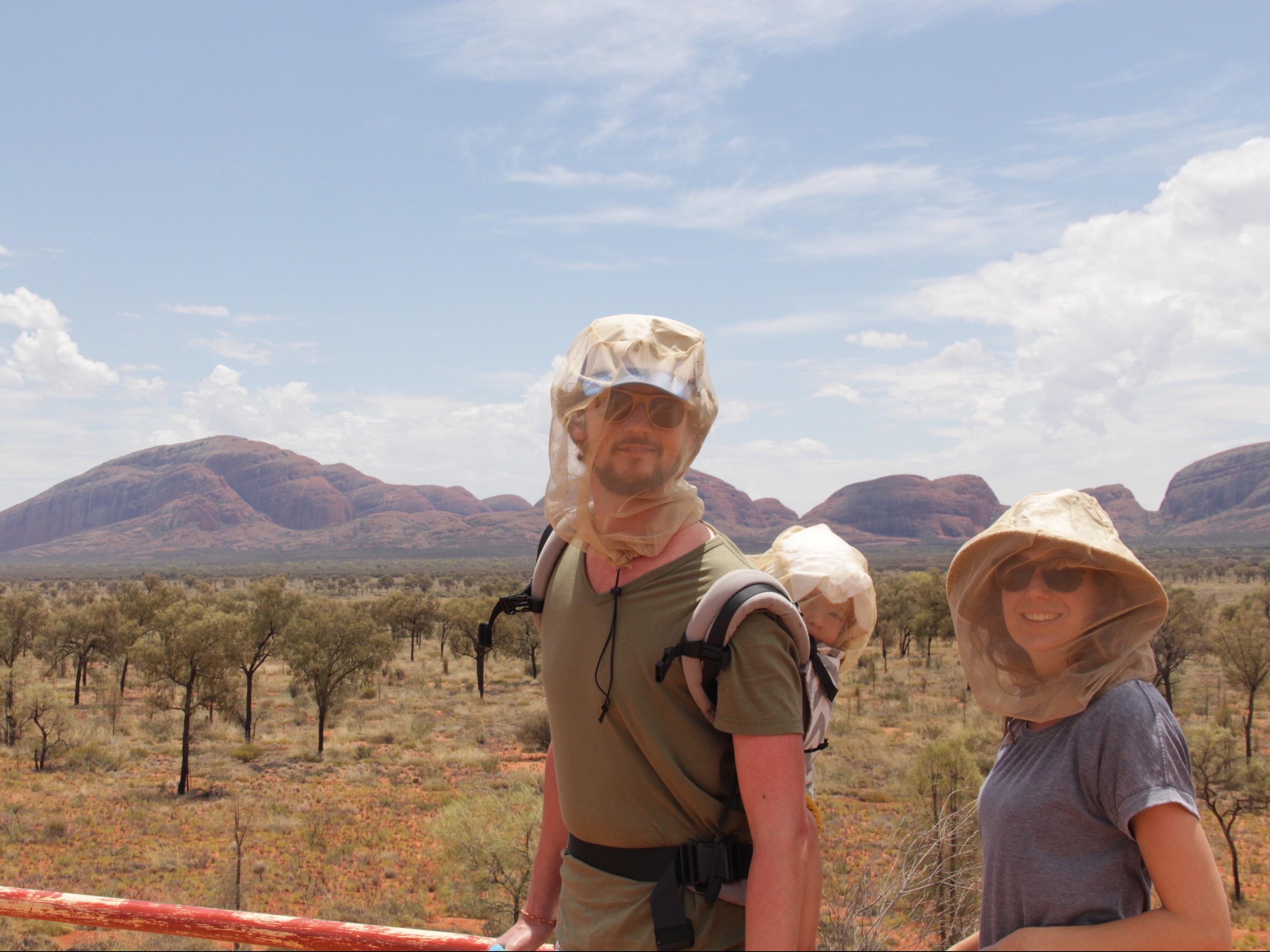 Vliegen Uluru